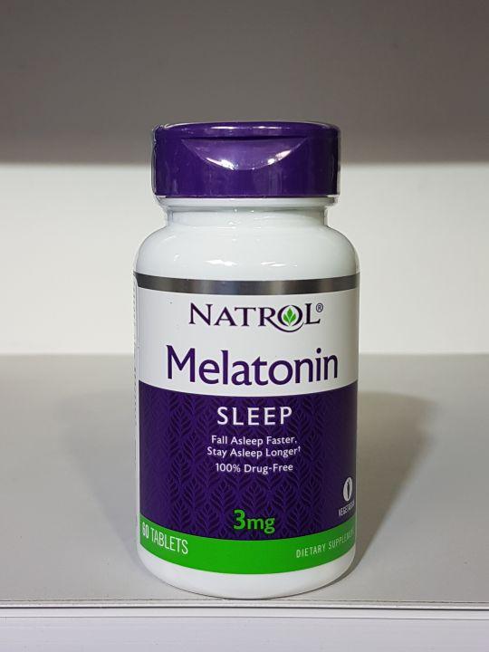 Natrol - Melatonin 3mg (60 таб)