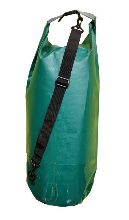 Гермомешок Woodland Dry Bag 40 л, пвх, с лямкой, цвет зеленый
