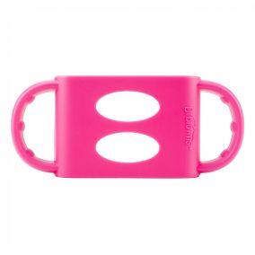 Dr.Brown's Ручки для широких бутылочек, силикон, розовые (арт. AC008)