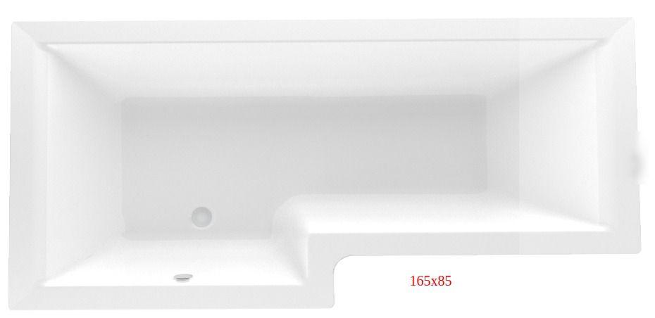 Ванна акриловая Marka One LINEA 165x85