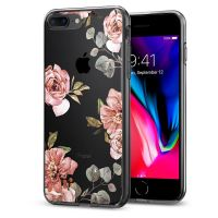 Чехол SGP Spigen Liquid Crystal Aquarelle для iPhone 7 Plus розы