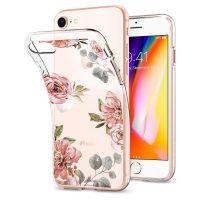 Оригинальный чехол SGP Spigen Liquid Crystal Aquarelle для iPhone 7 розы