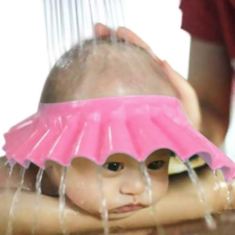 Детский козырёк для купания, розовый