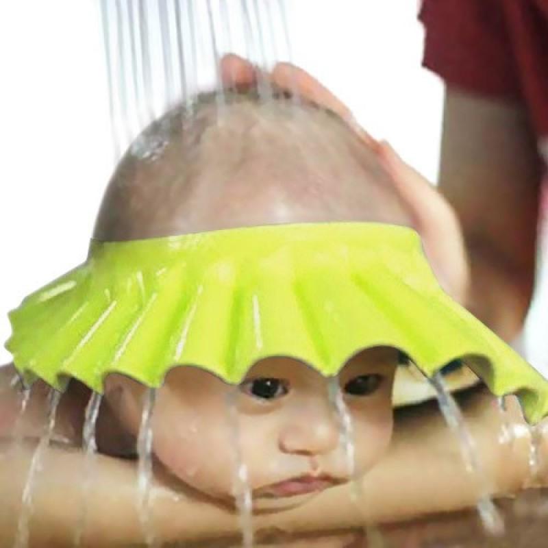 Детский козырёк для купания, желтый