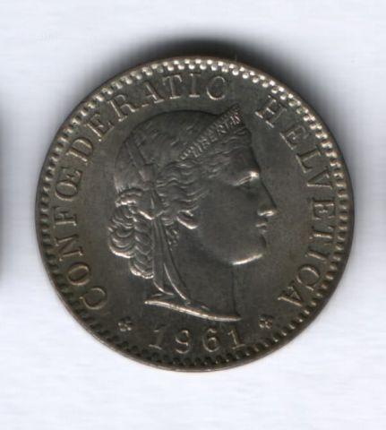 20 раппенов 1961 года Швейцария