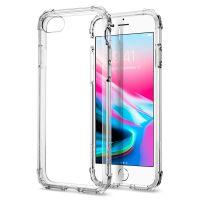 Оригинальный чехол SGP Spigen Crystal Shell для iPhone 8 кристально-прозрачный