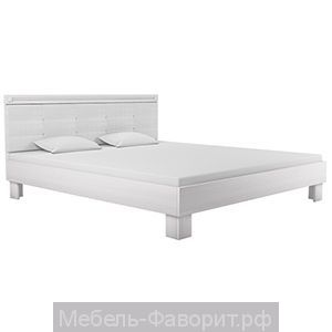 «Азалия 18 М» Кровать Бодега белый