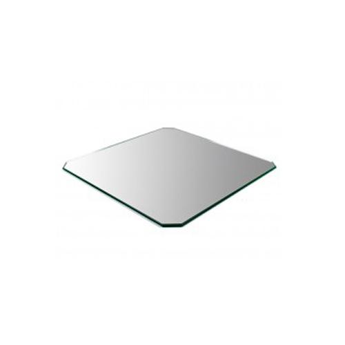 Зеркало для стола 3D принтера, шлифованное, 4 мм, без углов