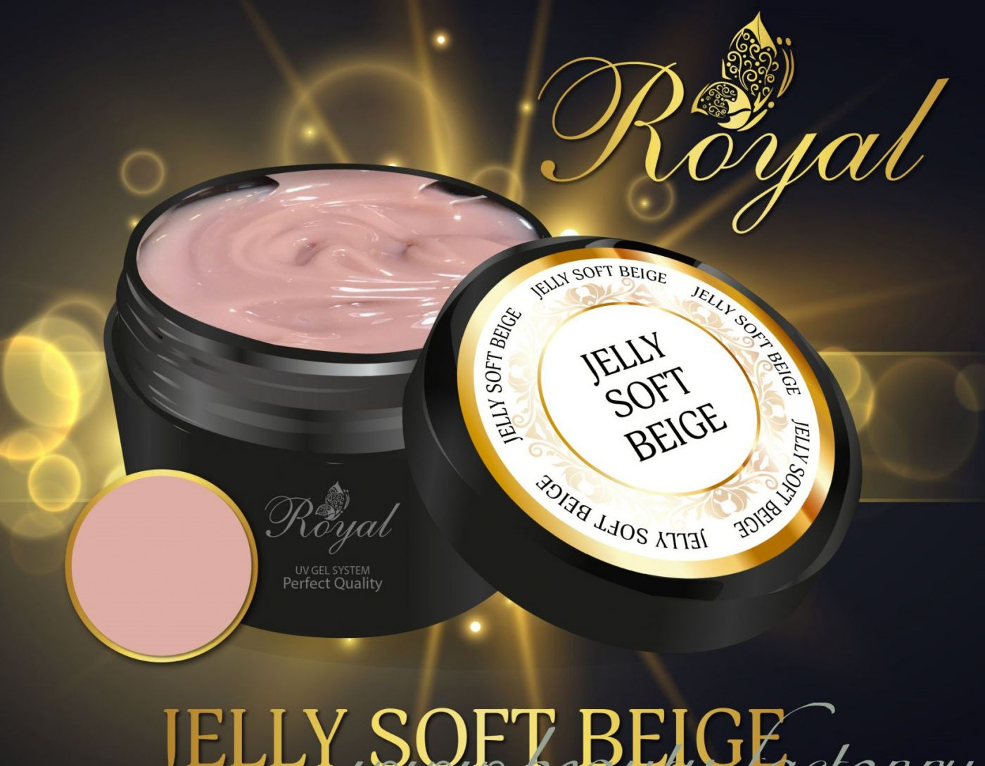 SOFT BEIGE CLASSIC JELLY ROYAL GEL