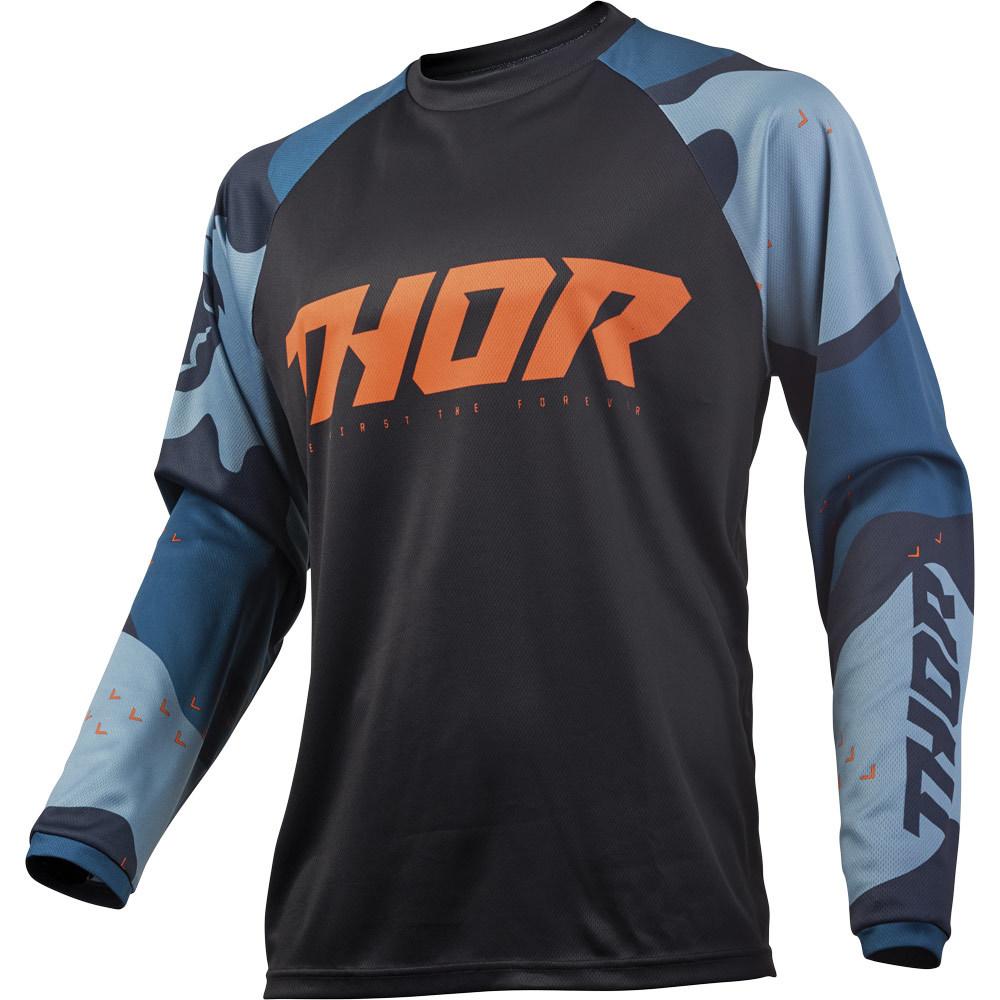 Thor - 2019 Sector Camo Blue джерси, синее