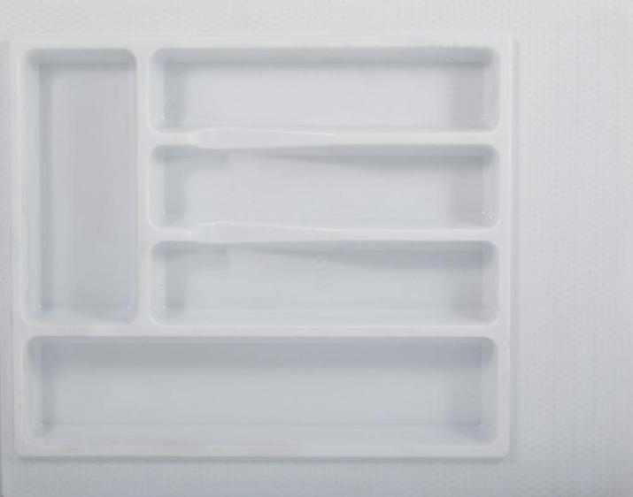 Вкладка для столовых приборов 400 мм белая