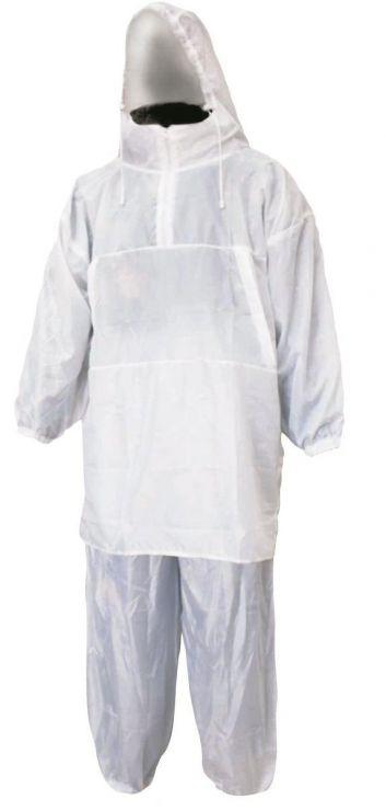 Костюм  МЕТЕЛЬ камуфляжный белый шелк