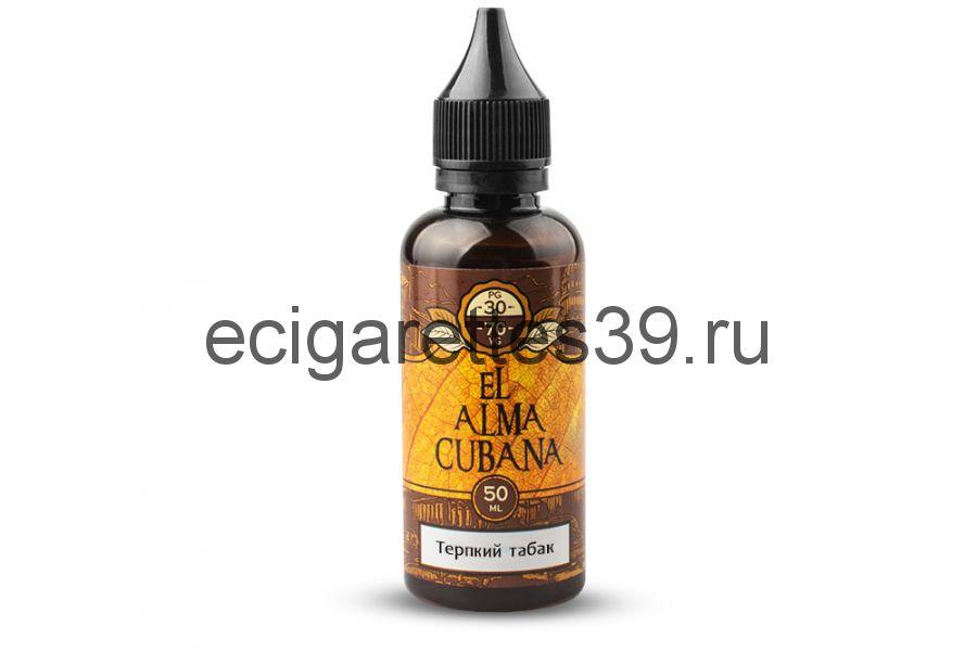Жидкость EL Alma CUBANA Терпкий табак, 50 мл.