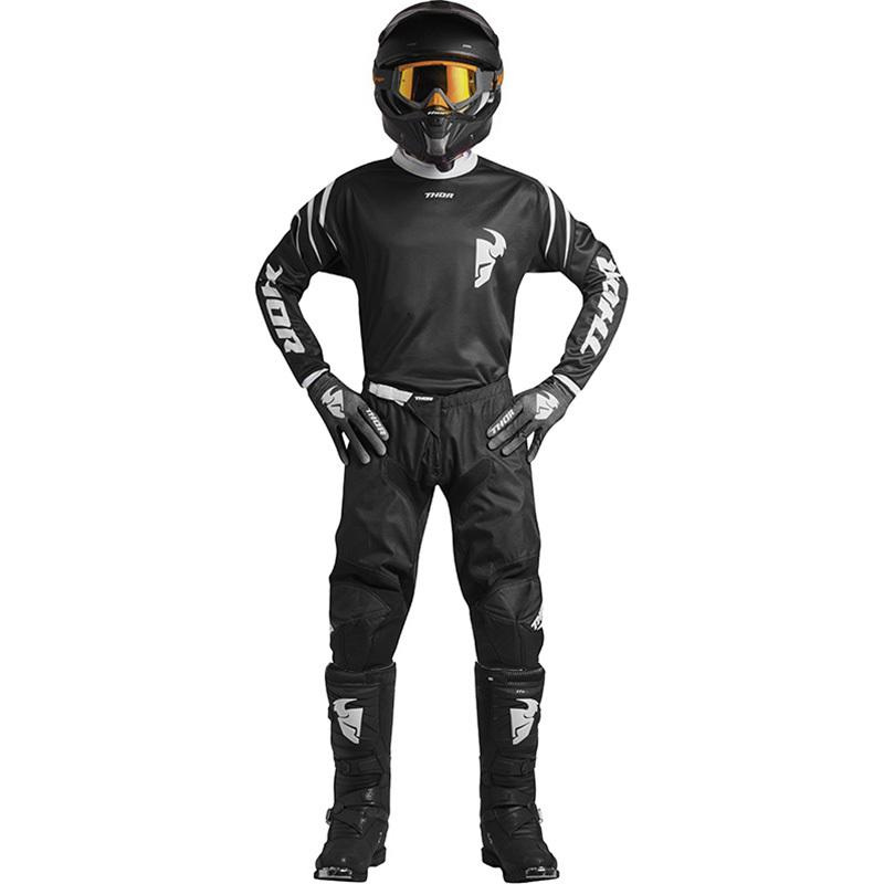 Thor - 2018 Sector Zone Black комплект джерси и штаны, черный