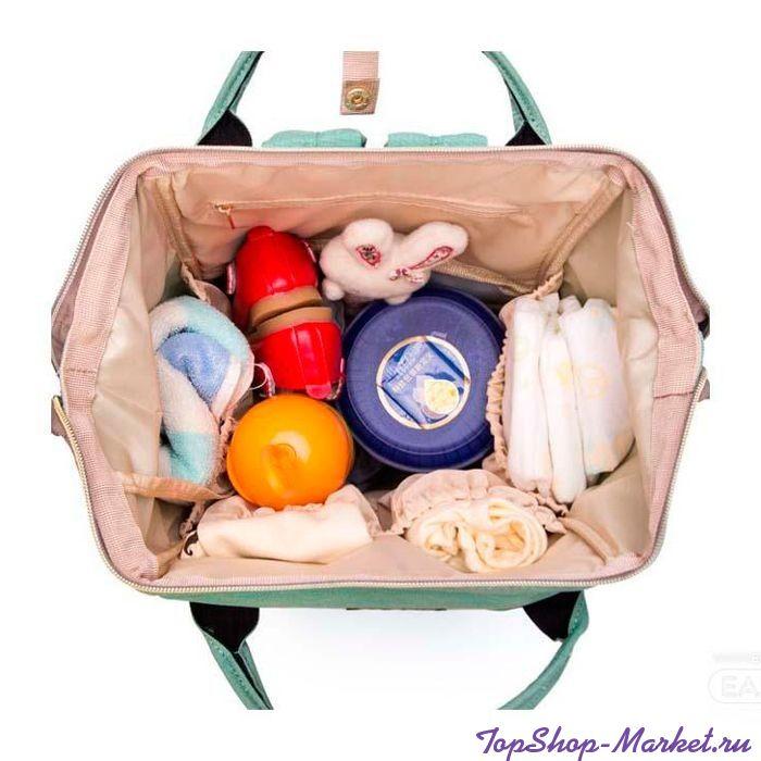 Сумка-рюкзак для мамы Mummy Bag, Цвет: Красный