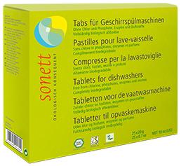 Sonett Таблетки для посудомоечных машин 25 шт.