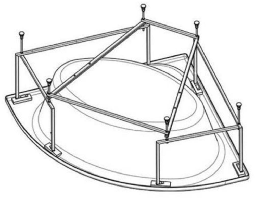 Монтажный набор для ванны Roca Luna ZRU9302913