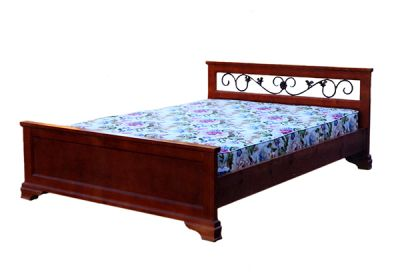Кровать Дилес Лира с ковкой