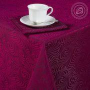 Набор столового белья Версаль бордо