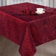 Набор столового белья Ирэн бордо