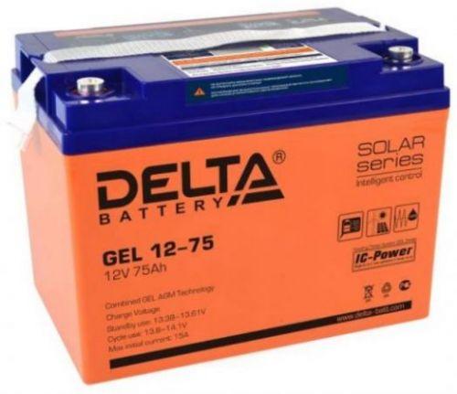Аккумуляторная батарея GEL 12-75