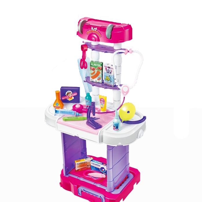 """Игровой набор в чемодане """"Маленький Доктор"""" 3в1"""
