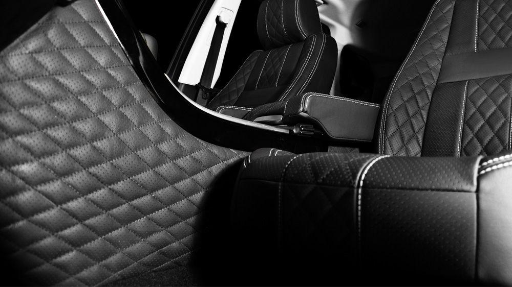 Обшивка коробки передач (Range Rover Sport 2005-2013)