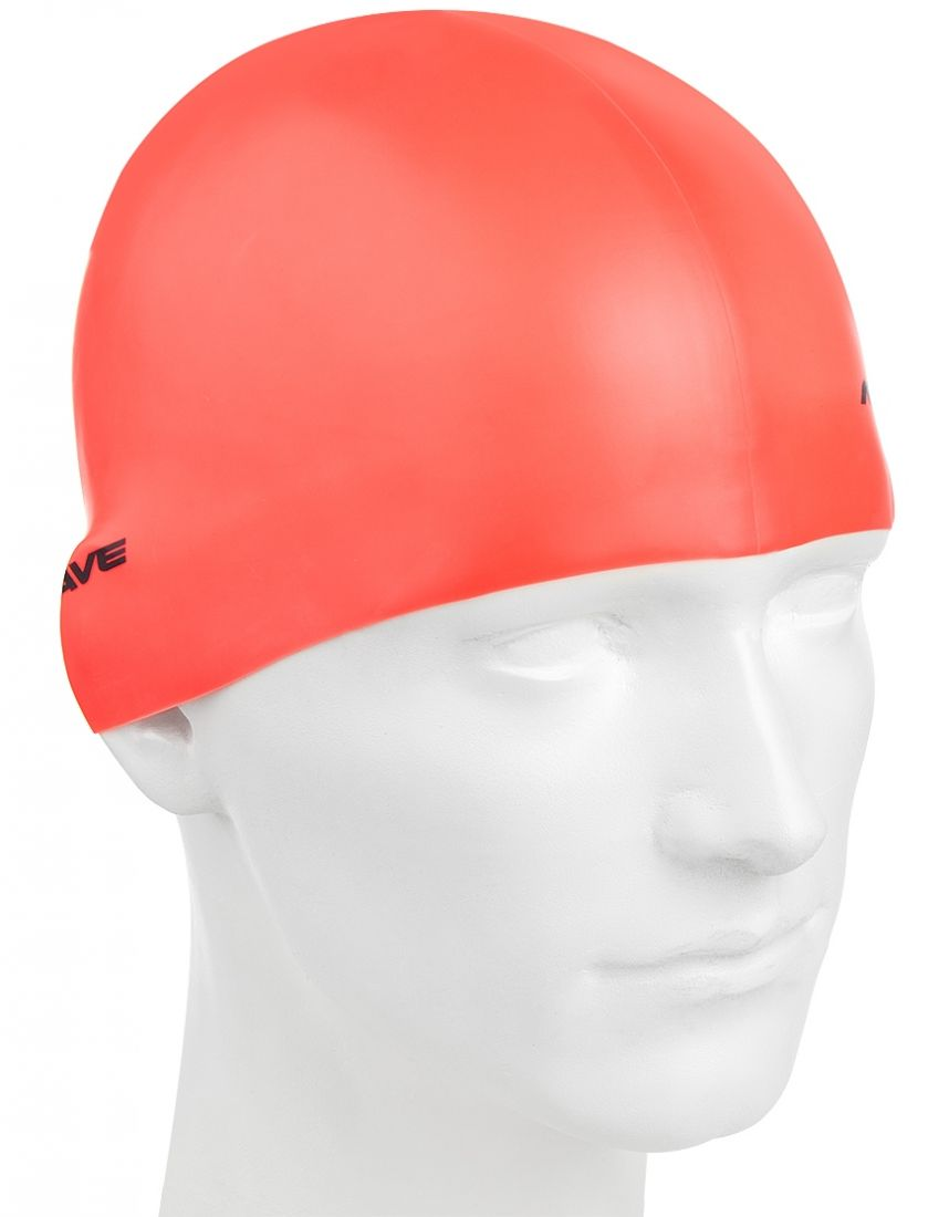 Шапочка для плавания силиконовая Mad Wave Neon Silicone Solid
