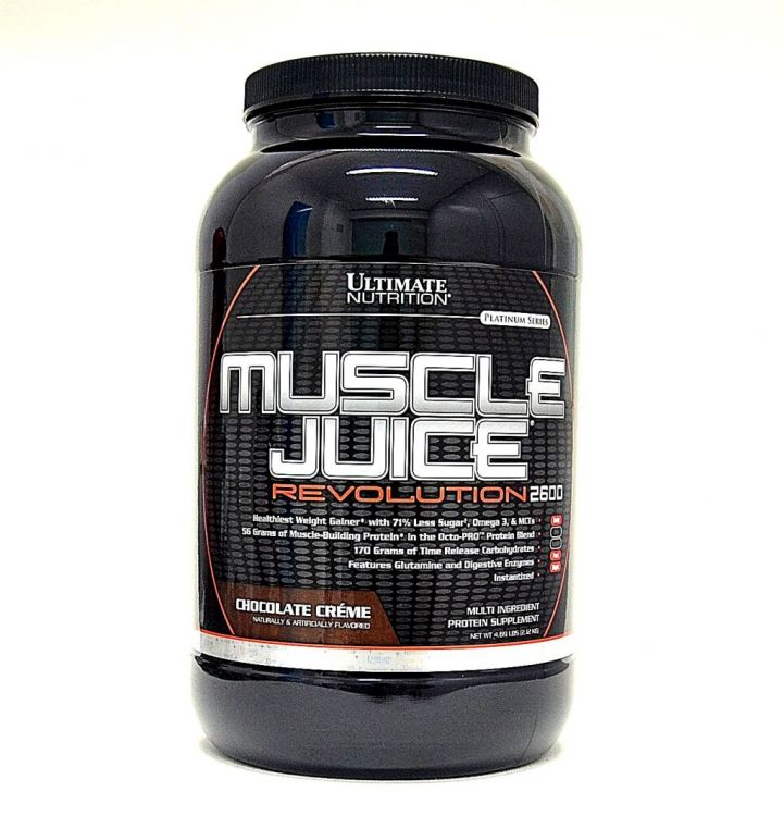 Muscle Juice Revolution 2600 от Ultimate Nutrition 2120 гр