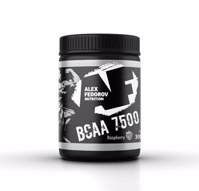 BCAA 7500 от Alex Fedorov Nutrition 300 гр