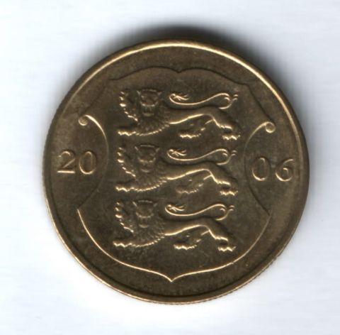 1 крона 2006 года Эстония