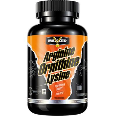 Arginine Ornithine Lysine от Maxler 100 кап