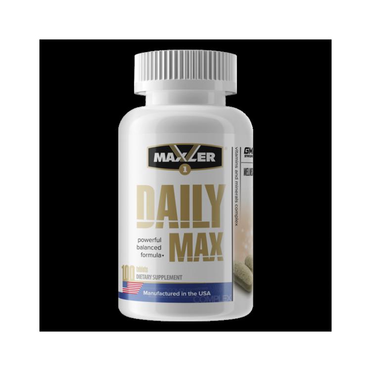 Daily Max от Maxler, 100 tabs_
