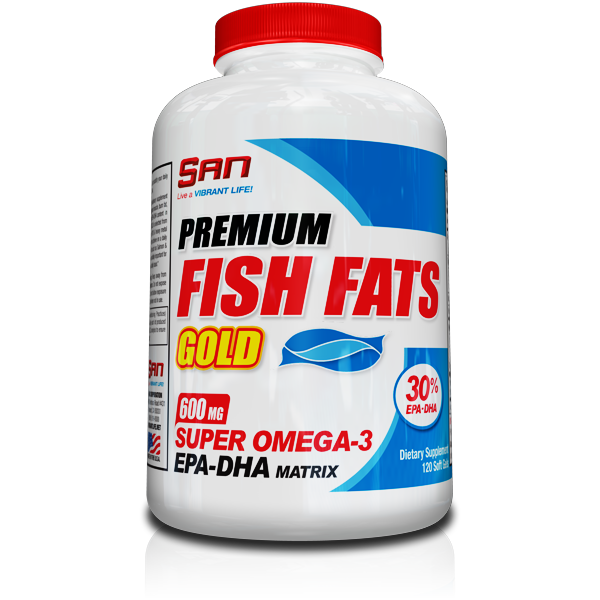 Premium Fish Fats Gold от SAN 120 кап_