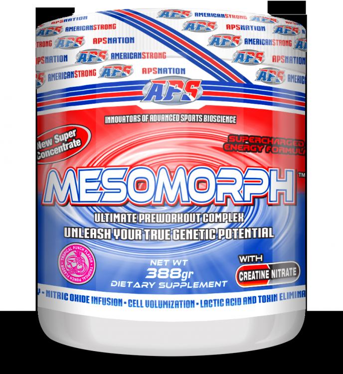 Mesomorph от APS 388 гр 25 порций