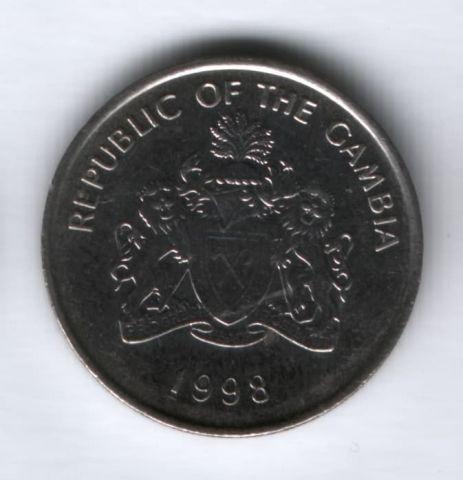 25 бутутов 1998 года Гамбия