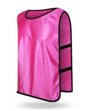 Манишка футбольная детская Розовая