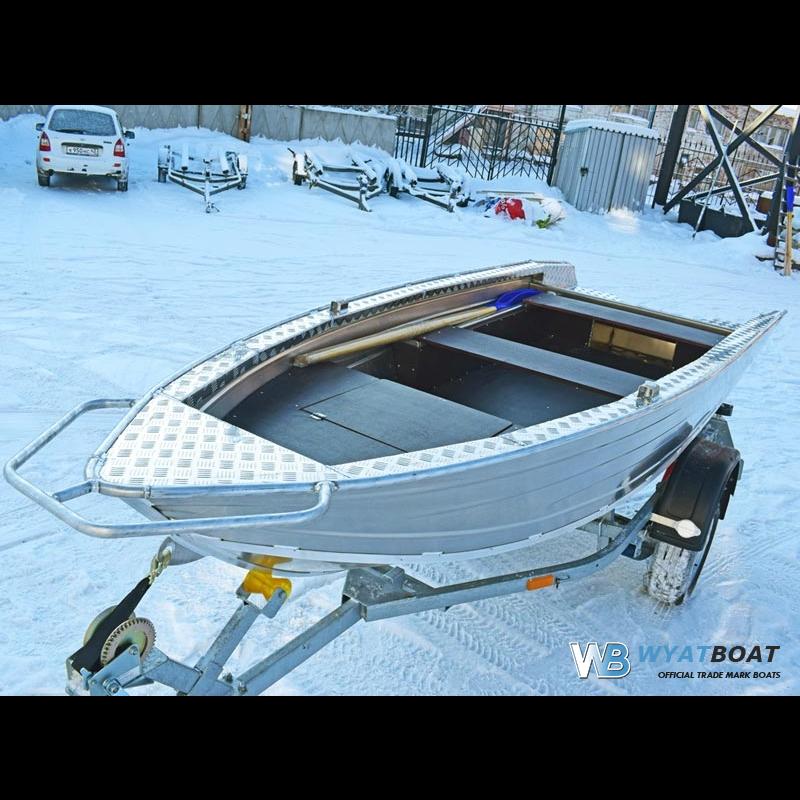 Лодка алюминиевая Wyatboat-390P