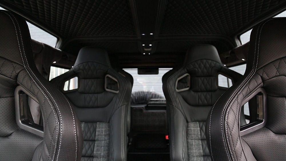 6 спортивных сидений GTB (Land Rover Defender 110)