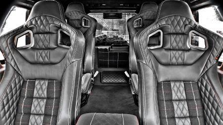 4 спортивных сидения GTB (Land Rover Defender 90)