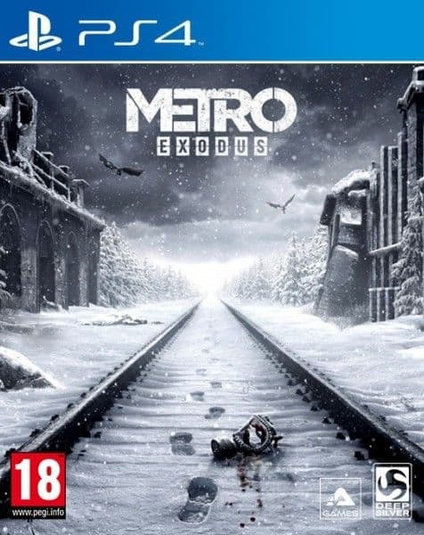 Metro Exodus Day One Edition ( Метро Исход ) русс. язык Ps4