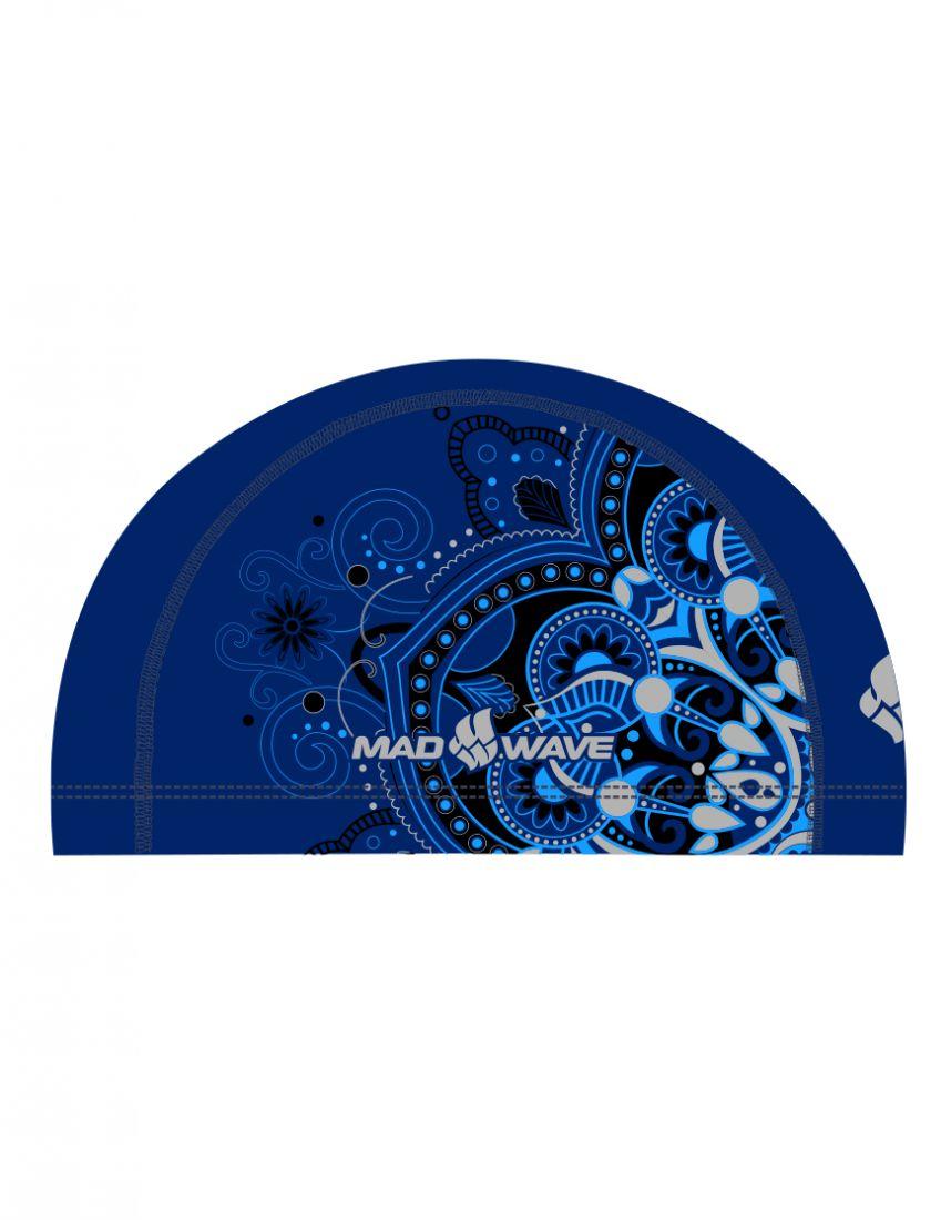 Шапочка для плавания комбинированная Mad Wave MANDALA