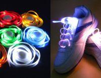 Светящиеся шнурки, Цвет: Красный