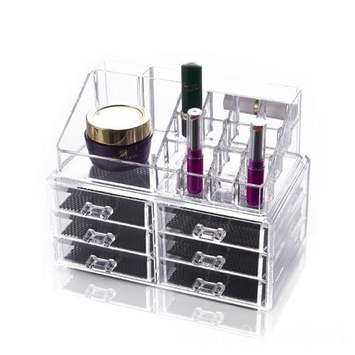 Акриловый органайзер для косметики Cosmetic Storage Box,6 ящиков