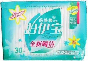 Jin Zheng En женские гигиенические прокладки на каждый день 30шт