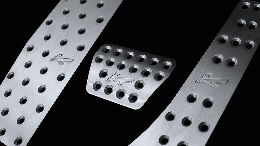 Алюминиевые педали (Range Rover Vogue 2009-2012)