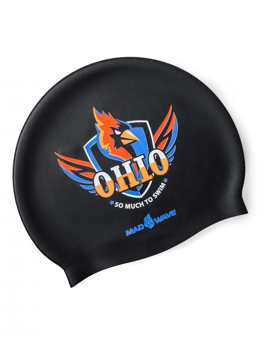 Шапочка для плавания силиконовая Mad Wave OHIO