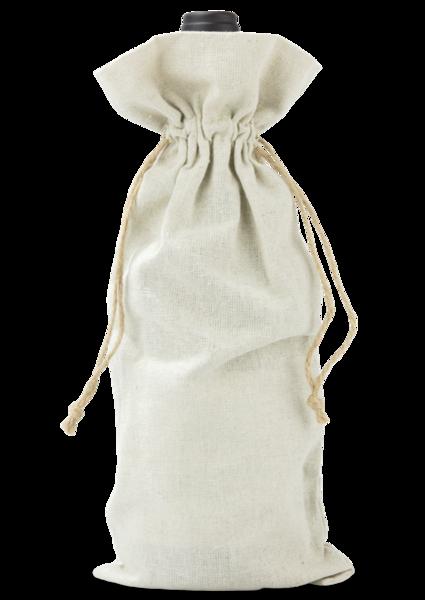 Rustic Linen Wine Gift Bags
