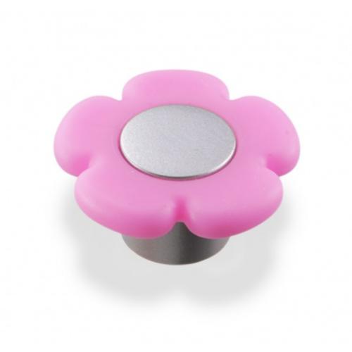 Ручка-грибок B-052 000 St светлый/ТЭП розовый