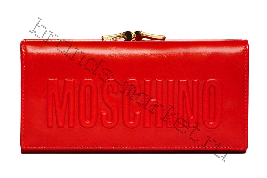 Женский кошелёк Moschino Red